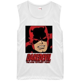 Daredevil Man Without Fear Juniors Shirt
