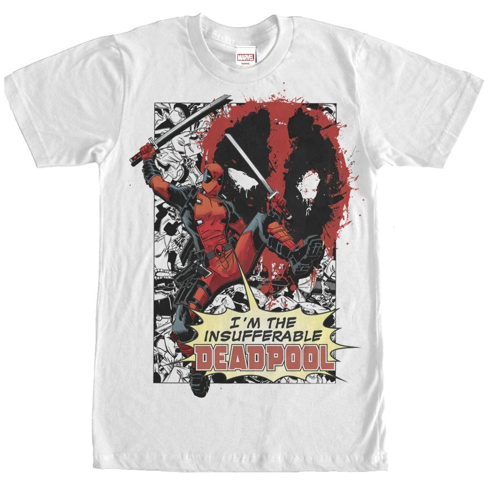 Deadpool Insufferable Tshirt