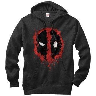 Deadpool Splatter Icon Hoodie