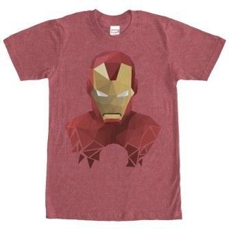Geometric Iron Man Tshirt