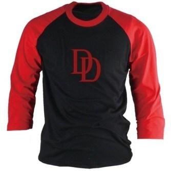 Azaza Daredevil Baseball Shirt