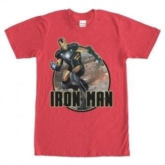 Ironman Badge Tshirt