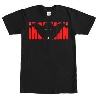 IronMan Block Letters Shirt