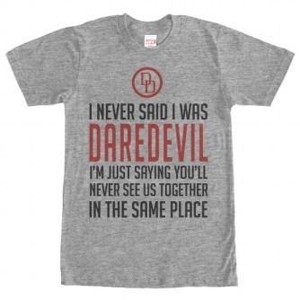 Never Said – Daredevil Tshirt