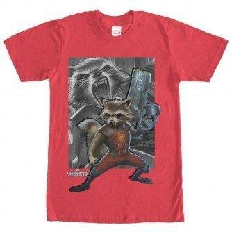 Raccoon Gun Tshirt