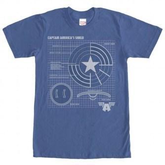 Schematic Shield Shirt