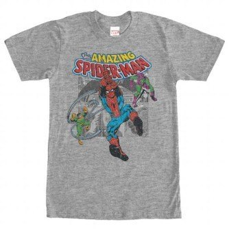 Spiderman Collage Shirt